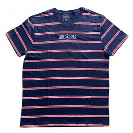 Camiseta Stripe - Blue